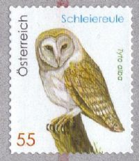 Austria 2009 Barn Owl 1v complete unmounted mint